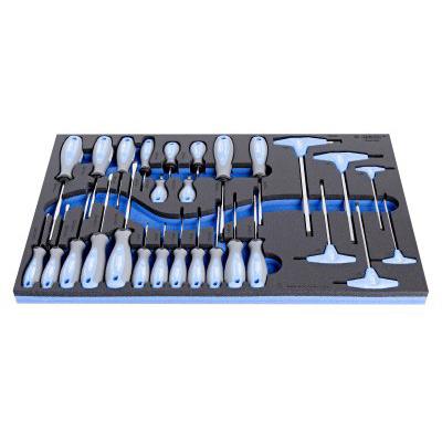 Garniture alata u SOS ulošcima za alat - pregled po veličini uloška