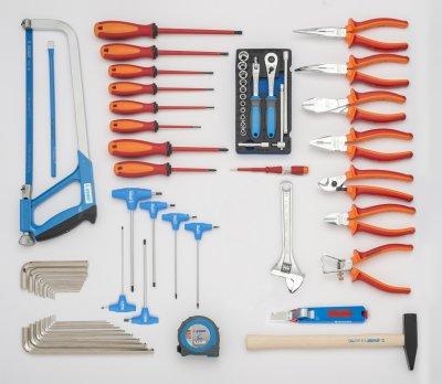 Set od 62 UNIOR alata za električare