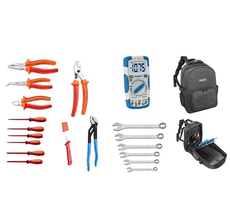 Set 19 UNIOR alata za električare u rancu MOVE