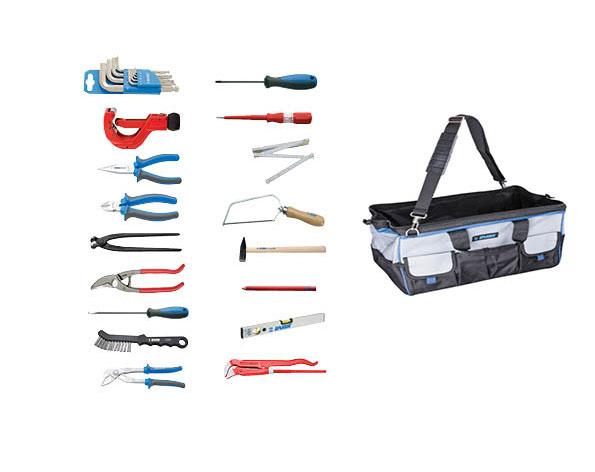 Set 28 alata za vodoinstalatere u torbi za alat