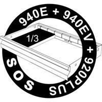 SOS uložak za nas. ključeve sa unutrašnjim i spoljašnjim TX profilom 964/16SOS
