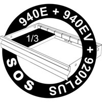 SOS ulažak za ključeve sa TX profilom sa T-ručicom 964/14SOS