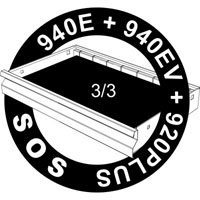 SOS uložak za odvijače sa T ručicom, turpijom i skalpelom 964/34SOS