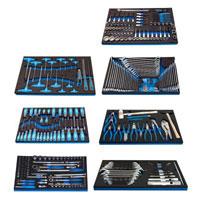 Garnitura ručnih alata u SOS ulošcima, 324 delova