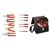 Set 11 izolovanih VDE UNIOR alata u torbi za alat SATURN