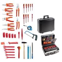 Komplet 37 izolovanih VDE UNIOR alata u koferu BASE