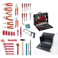 Komplet 37 izolovanih VDE UNIOR alata u torbi JUPITER