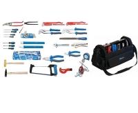 Komplet 48 UNIOR vodoinstalaterskog alata u torbi WORK