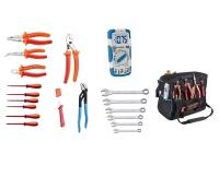 Set 19 UNIOR alata za električare u torbi CARRY