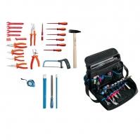 Komplet 24 UNIOR alata za električare torbi SERVICE