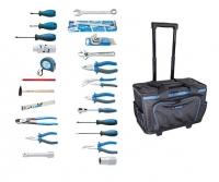 Set 54 alata za održavanje u torbi za alat sa  teleskopskom drškom i točkićima