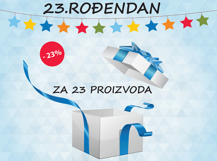 Rođendanska akcija od 24 do 28 septembra