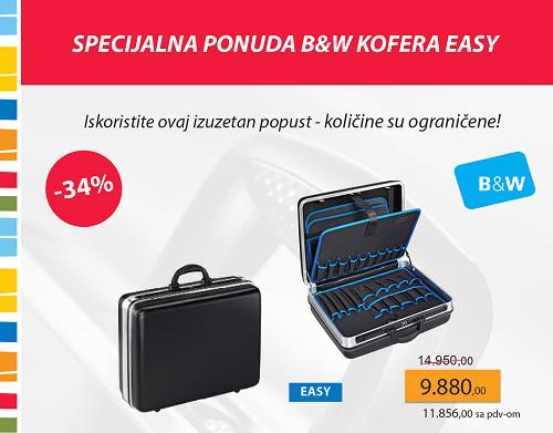 Specijalna ponuda B&W kofera Easy